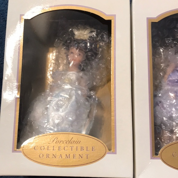 DG CREATIONS Other - 3 Ballerina Porcelain Collectible Ornament